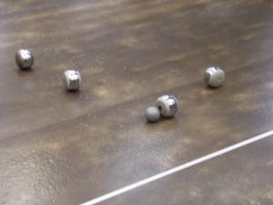 Les boules,  photographie de Chloé Rosati-Marzetti (juillet 2012).