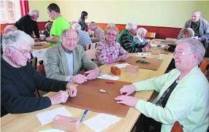 Joueurs de dominos, photographie fournie par Jean-Philippe Joly